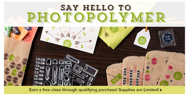 NEW! Photopolymer Stamps