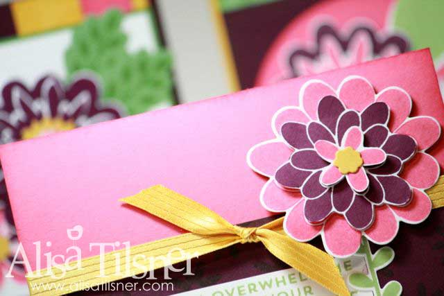 Flower Patch Stamp by Mail