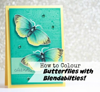 How to Colour Butterflies