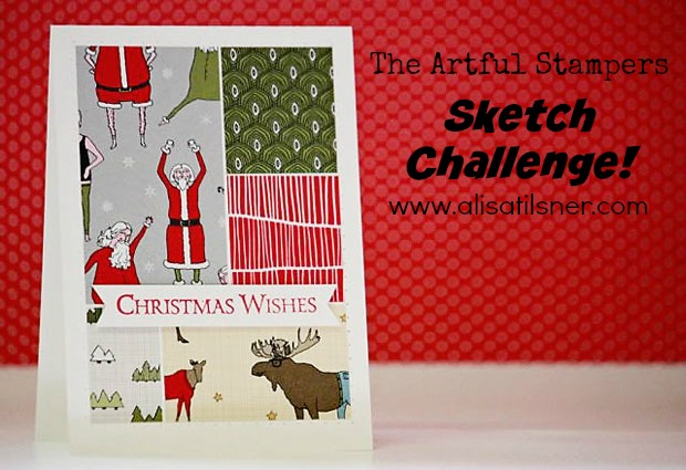 The Artful Stampers Blog Hop Challenge 8