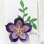 stampin up flower frenzy