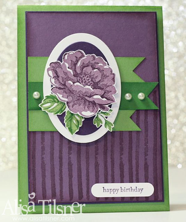 stampin up stippled blossoms