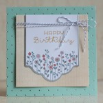 Stampin Up Cottage Greetings Card Kit