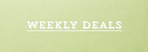 Wednesday Weekly Deals