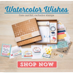 Stampin Up Watercolour Wishes