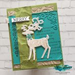 Dashing Deer Card from Annual Catalogue with Video